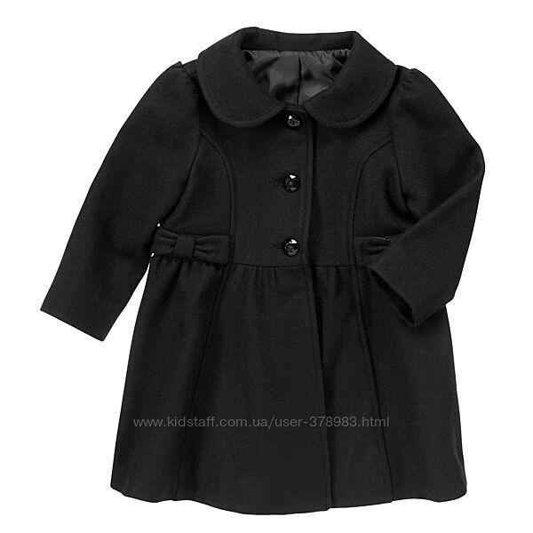 Шерстяное пальто  для девочки Crazy8 США возраст 4 года в наличии, 2 модели
