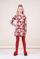 Повседневно-нарядные платья ТМ Зиронька 8025-3 рост 140 см в наличии