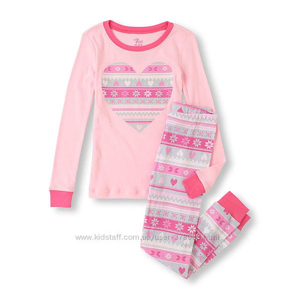 Пижамы хлопковые Childrens Place США Isle возраст 4 года в наличии