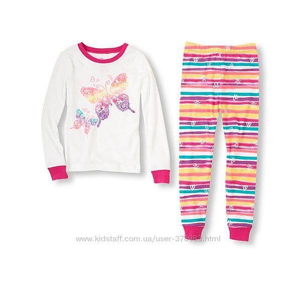 Пижамы хлопковые Childrens Place США rainbow butte возраст 4 года в наличии