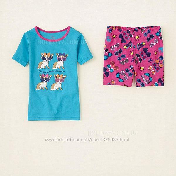 Пижамы хлопковые Childrens Place США sunglasses возраст 2 года в наличии