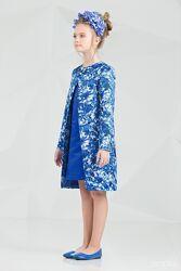 Комплекти нарядні плащ і сукня Зіронька 7002 ріст 152-164см в наявності