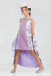 Комплекти нарядні плащ і сукня Зіронька 7002 ріст 152см в наявності