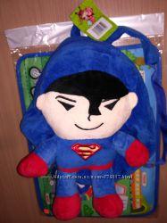 Мягкий рюкзак хеллоу китти, супермен, Спайдермен