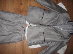 костюм серый
