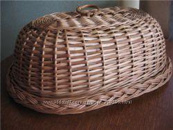 Хлебница, деревянные хлебницы, хлебница из дерева, хлебница из лозы