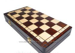 Шахматы из натурального дерева
