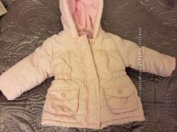 Курточка деми на девочку как новая