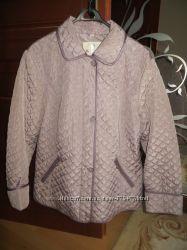 Куртка стёганная нежно-сиреневого цвета, 52-54 р. Новая