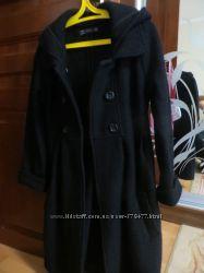 Демисезонное пальто на  стройную девушку , фирма Zara, размер 44
