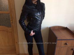 Фирменная кожаная куртка косуха