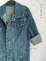 Джинсовая курточка 116 рост