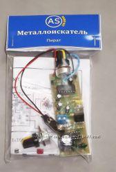 Радиоконструктор ПИРАТ. Собранная плата металлоискателя.