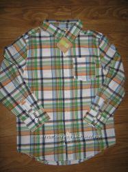 Рубашка котоновая Crazy 8 на 5-7 лет