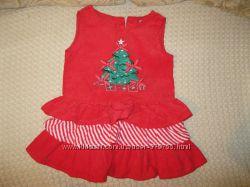 Красивое и практичное вельветовое платье с елочкой