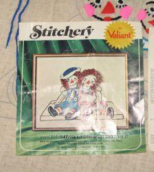 Набор для вышивания Valiant Stitchey vintage USA