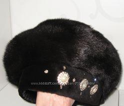 Берет норковый шапка из норки