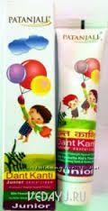 Детская зубная паста. Индия
