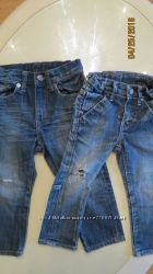 Крутые рваные джинсы H&M