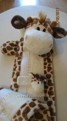 Мягкий ростомер - игрушка Жирафик