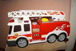 Большая Пожарная машина Dickie Toysсо звуковыми, световыми, водным