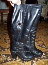 Сапожки зимние  кожа натур. 39 размер