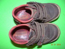 Продам наши кожанные полностью туфли-ботинки 26р. 16, 5см
