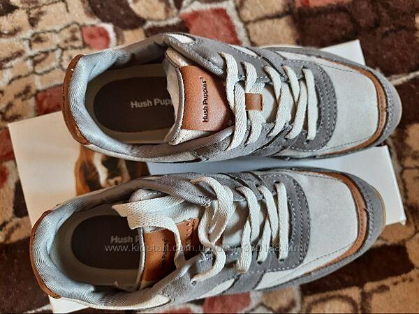 Новые фирменные кожаные кроссовки