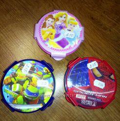 Новая посуда детская Disney Princess Человек паук
