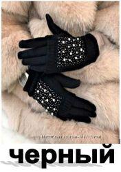 Перчатки Стразы