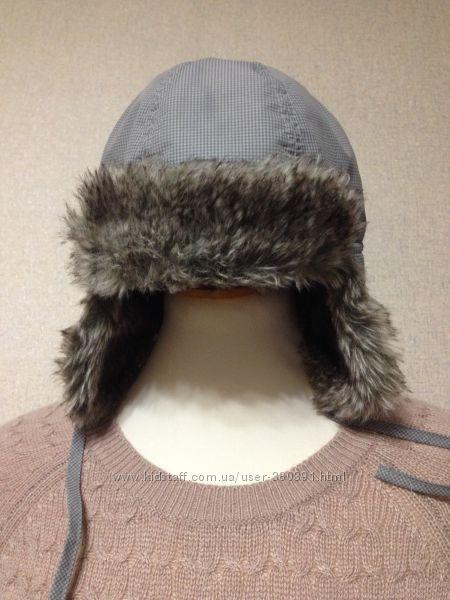 Шапка зима H&M двойнаяплащевкафлис2-4г