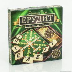 Настольная игра Эрудит Ерудит 2 в 1 двуязычная с деревянными фишками