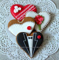 Пряники-сердечки к любому празднику