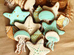 Летнее расписное печенье