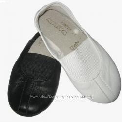 Чешки кожаные Матита белые и черные в наличии