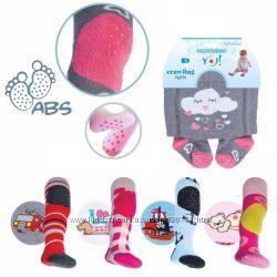 Yo Колготы детские со стопперами для ползания для мальчика и для девочек