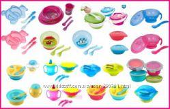Детская посуда BabyOno мисочки, тарелочки канпол