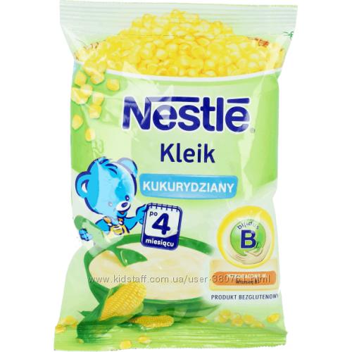 Nestle Каша безмолочная безглютеновая Кукурузная с бифидобактериями 4м 160