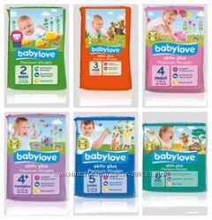 Детские подгузники BabyLove европейское качество, доступная цена. бебилайф