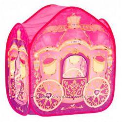 Bino Палатка Карета для принцессы и много других игровых палаток-домиков
