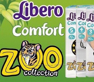 Уже в продаже Подгузники Libero Comfort zoo collection по выгодной цене.