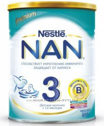Nestle Молочная смесь NAN 3 OptiPro 800 г