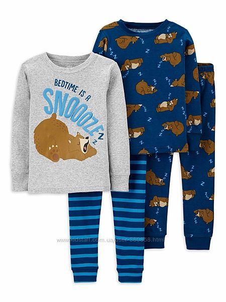 Пижамы на мальчика Carters, Wonder Nation из США