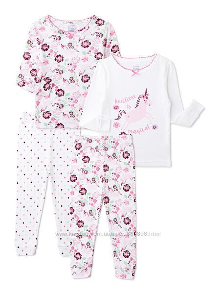 Пижамки на девочек 4 лет из Америки