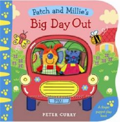 BIG DAY OUT FINGER PUPPET PLAY BOOK PATCH AND MILLIE
