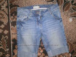 джинсовые бриджи