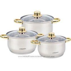 Набор посуды MR2006-6M золото супер цена