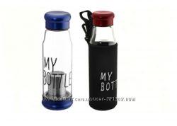 Бутылка My Bottle 420мл. стеклянная