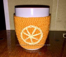 Чашка з апельсиновим кожушком