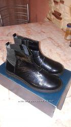 Ботинки деми  для девочки р 36 кожа Браска